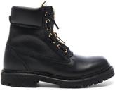 Balmain Leather Taiga Boots