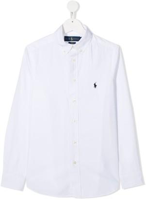 Ralph Lauren Kids TEEN long sleeve button-down shirt