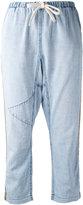 Freecity cropped trousers - women - Cotton - L