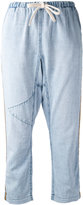 Freecity cropped trousers - women - Cotton - S
