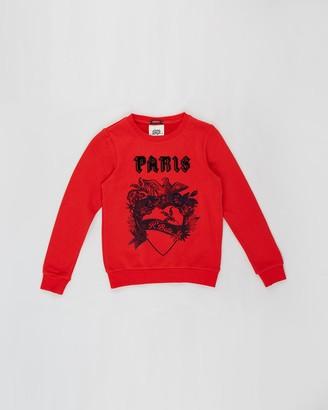Scotch R'Belle Paris Crew Neck Sweater - Teens