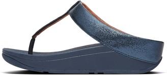 FitFlop Fino Glitzy Toe-Post Sandals