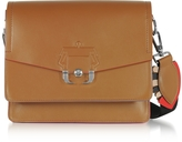 Paula Cademartori Twiggy Leather Shoulder Bag