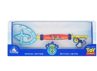 Disney Toy Story 25th Anniversary Collectible Key Special Edition