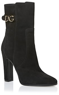 Dolce & Gabbana Women's High Heel Booties