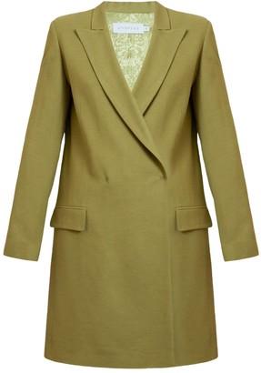 Undress Namya Olive Green Double Breasted Mini Blazer Dress