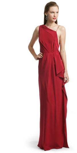 Roksanda Ilincic Red Moroccan Draped Gown