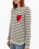 Chinti and Parker Breton Heart Sweater