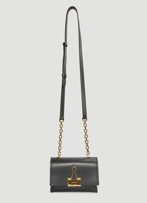 Off-White Binder Clip Small Shoulder Bag