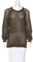 Etoile Isabel Marant Open Knit Raglan Sleeve Sweater