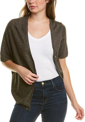 Tsesay Asymmetrical Silk-Blend Cardigan