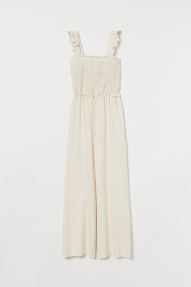 H&M Smocked jumpsuit