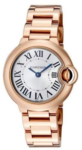 Cartier Ballon Bleu W69002Z2 18K Rose Gold Watch