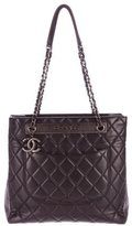 Chanel 2015 Quilted Lambskin Shopping Tote