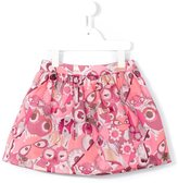 Fendi Bag Bugs jacquard skirt - kids - Cotton/Polyamide/Polyester - 4 yrs