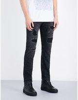 Helmut Lang Mr. 87 Destroy Slim-fit Tapered Jeans