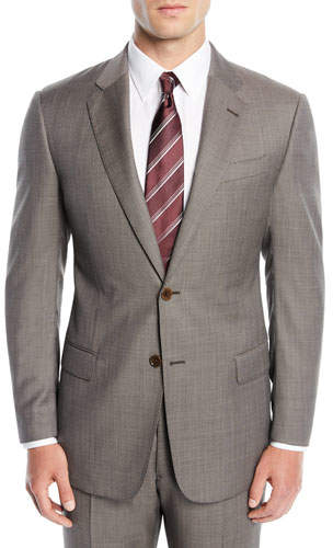 Emporio Armani Men's Micro-Textured Two-Piece Suit