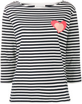 Chinti and Parker Heart striped top