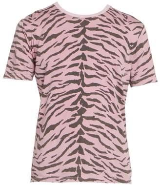 Saint Laurent Cotton Print T-Shirt