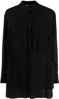 Moschino Oversized Pocket Loose Shirt