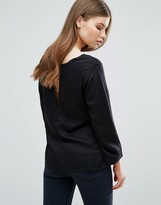 Selected Caro Cut Out Back Top