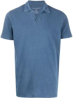 Majestic Filatures Plain Short-Sleeved Polo Shirt