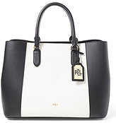 Lauren Ralph Lauren Dryden Collection Marcy Colorblocked Tote