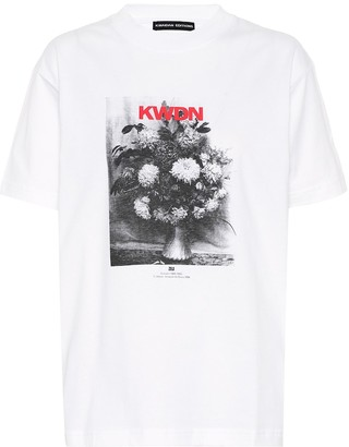 Kwaidan Editions Printed cotton T-shirt