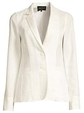 Lafayette 148 New York Women's Vangie Linen-Blend Blazer