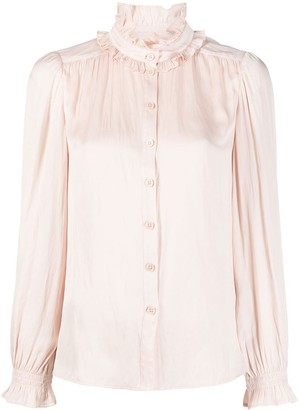Zadig & Voltaire Tacca satin blouse