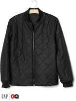 Gap x GQ Saturdays New York City quilted bomber jacket