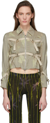 BEIGE Helenamanzano SSENSE Exclusive Sea Anemone Jacket