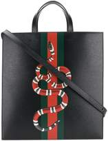 Gucci Kingsnake print tote bag