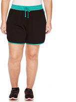 Made For Life Mesh Pull-On Shorts-Plus