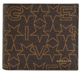 Givenchy Men's Print Coated Canvas Wallet - Brown