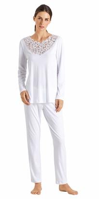 Hanro Women's Najuma Long Sleeve Pajama Set