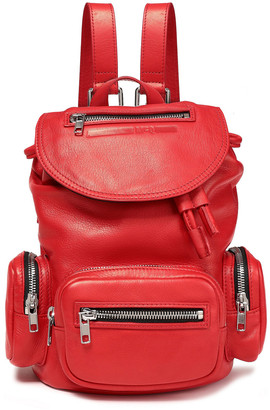 McQ Mini Convertible Leather Backpack