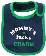 "Carter's Baby Mommy's Lucky Charm"" Graphic Bib"