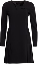 Akris Double-Face Wool Short Dress