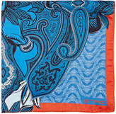 Etro Men's Paisley Pocket Square