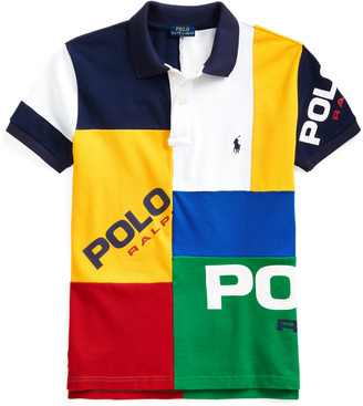 Ralph Lauren Classic Fit Colour-Blocked Polo