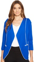 XOXO Contrast Piped Jacket