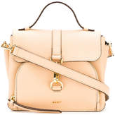 DKNY shoulder buckled satchel