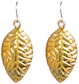 Anna Lou of London Leaf Earrings