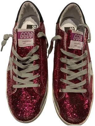Golden Goose Superstar Pink Glitter Trainers