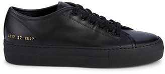 Woman By Common Projects Tournament Low-Top Leather Sneakers