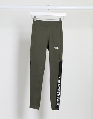 The North Face TNL High Rise legging in khaki