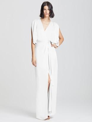 Halston Kimono Wrap Gown