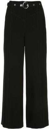 Cinq à Sept Polly wide-leg crepe trousers