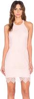 Bobi BLACK Lace Mini Dress